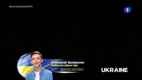Actuación de Oleksandr Balabanov (Ucrania)