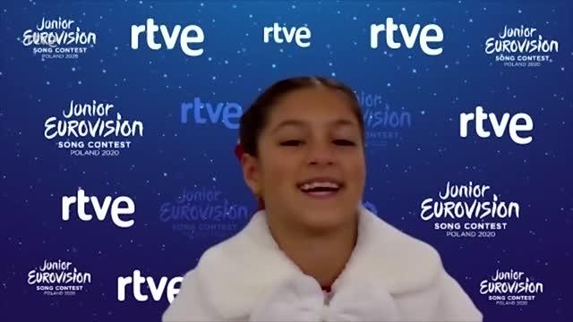 """Soleá: """"Me gustaría volver a Eurovisión Junior"""""""