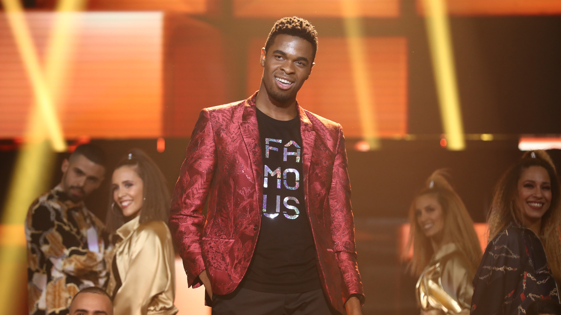 """OT 2018 - Famous canta """"Uptown funk"""" en la gala 10"""