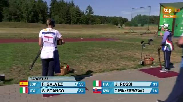 Fátima Gálvez gana el bronce en Trap y logra la plaza olímpica