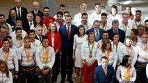 """Felipe VI recalca el """"orgullo"""" por los deportistas olímpicos y paralímpicos"""