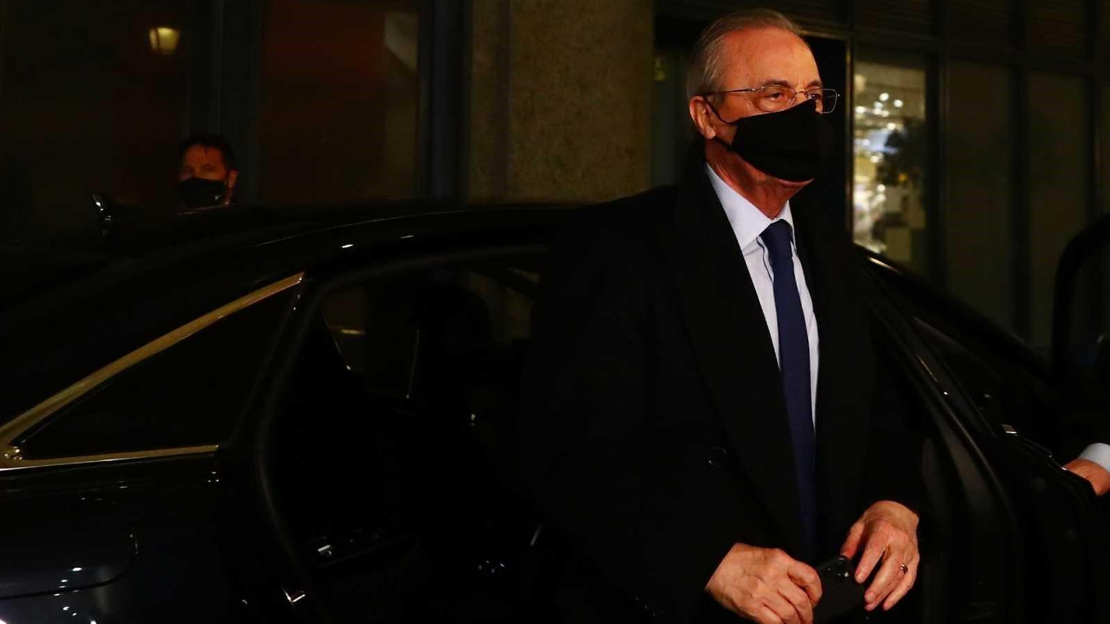"Florentino Pérez: ""Me siento triste y decepcionado"""