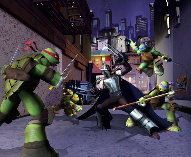 Fotograma de la nueva serie de Tv de 'Las tortugas Ninja'