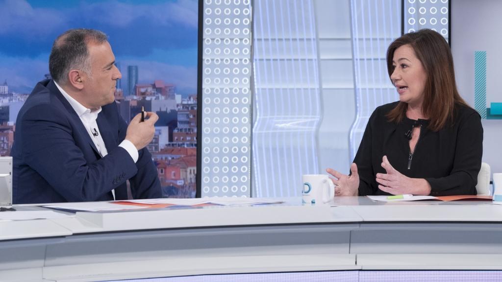 Los desayunos de TVE - Francina Armengol, presidenta del Gobierno de las Islas Baleares