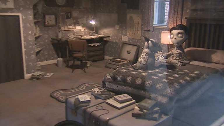 """El proceso creativo de la película de Tim Burton """"Frankenweenie"""" se expone en Madrid"""