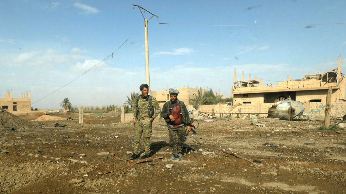 Fuerzas kurdas avanzan en último enclave del Estado Islámico en Siria