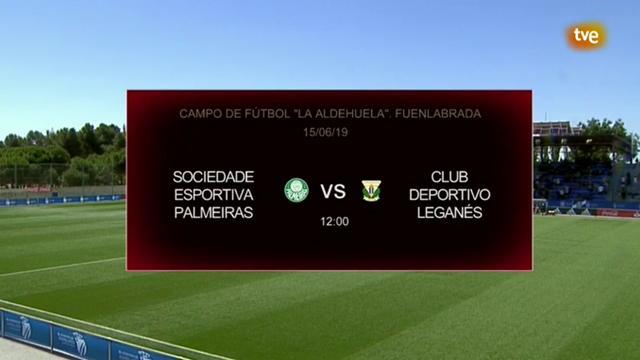 Mundial Clubes Juvenil Final: S.E.Palmeiras - C.D. Leganés