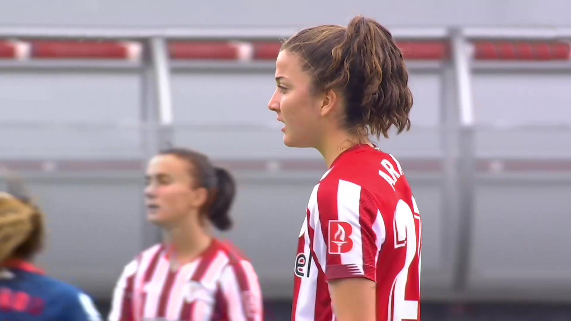 Primera División Femenina. 33ª Jornada:Athletic Club-Sevilla
