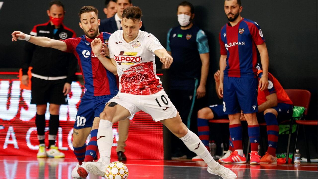 Copa del rey. 1ª Semifinal: Levante UD FS - El Pozo Murcia