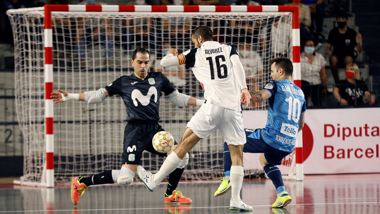 Copa del rey. 2ª Semifinal: Movistar - Santa Coloma