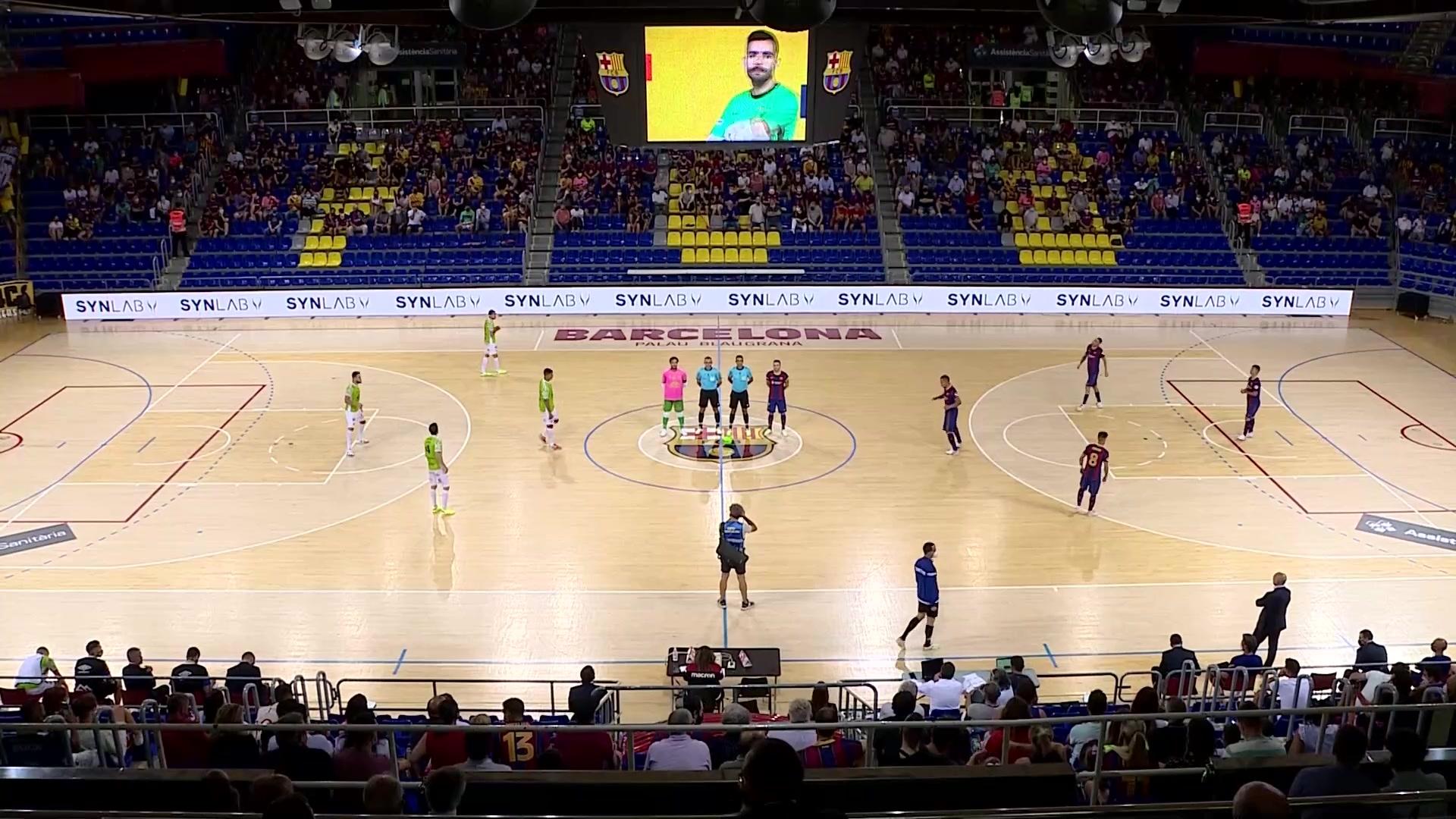 Play off Semifinal. 2º Partido: Barça - Palma Futsal