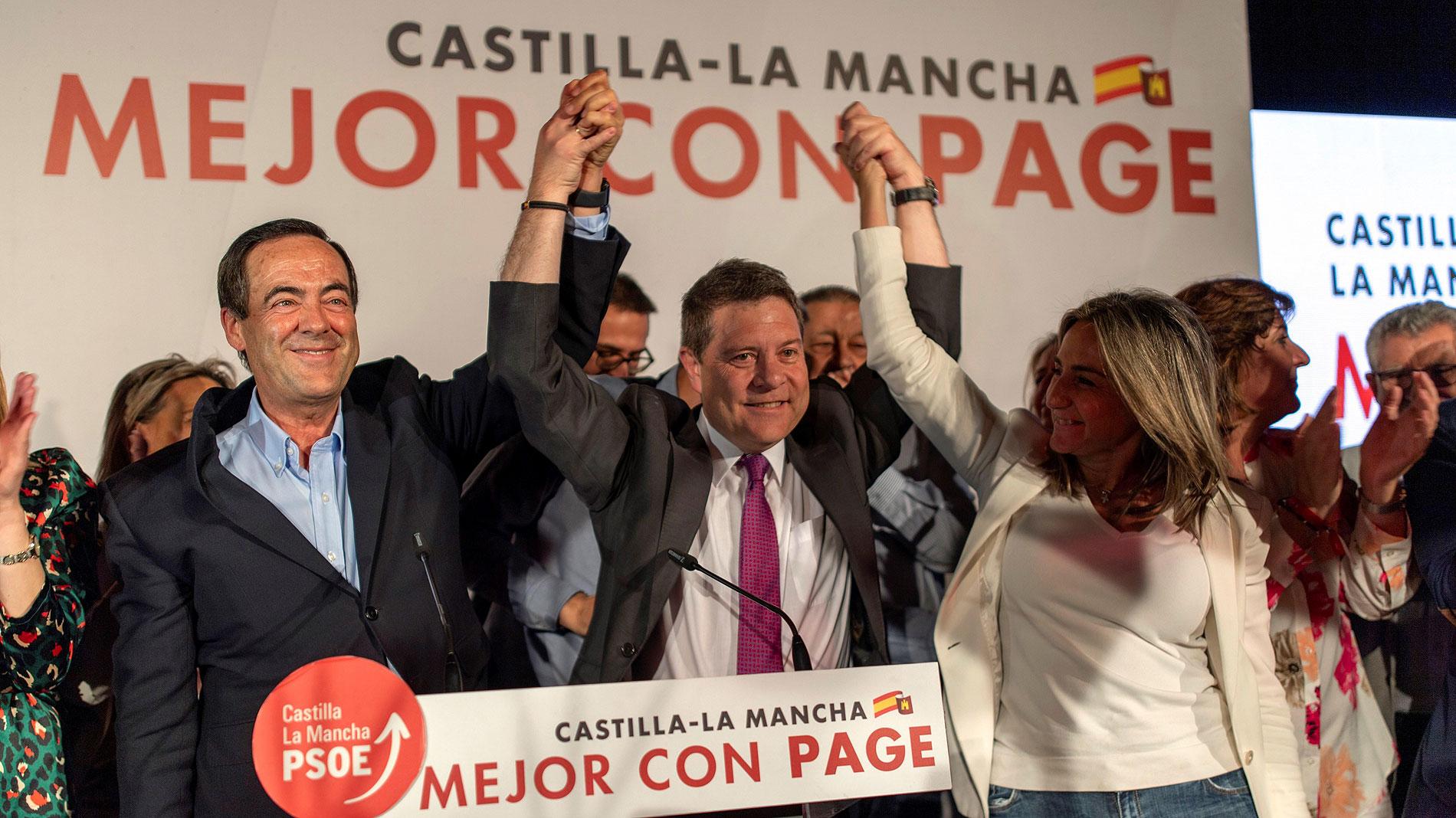 García-Page logra la mayoría absoluta en Castilla-La Mancha