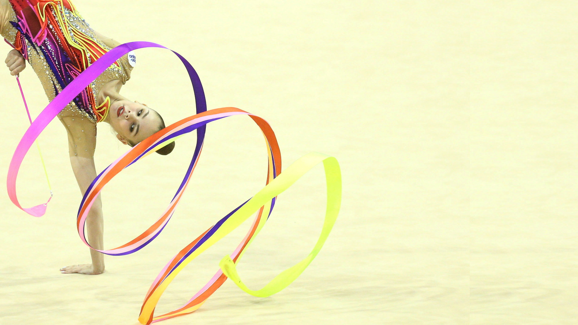 Final individual por aparatos aro y pelota / mazas y cinta