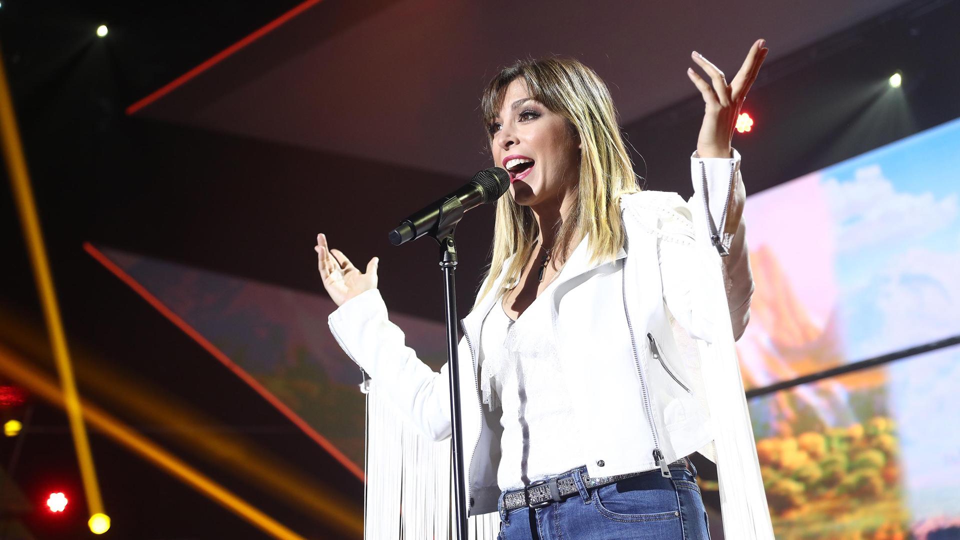 """OT 2018 - Gisela canta """"Amigos"""" en la gala de Navidad"""