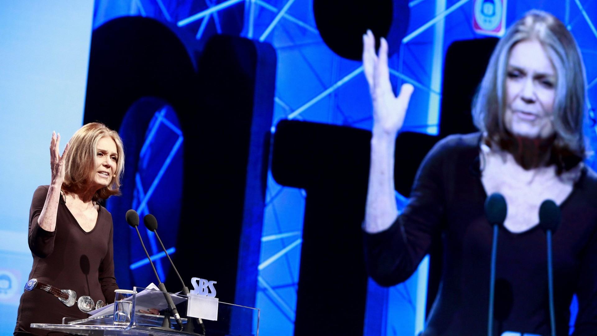 Gloria Steinem, icono del feminismo estadounidense, Premio Princesa de Asturas de Comunicación y Humanidades