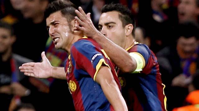 Gol de Villa para enmarcar (3-1)