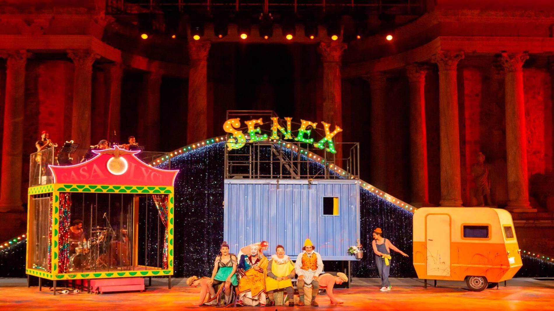'Golfus de Roma' llevará el musical al Festival de Mérida con un amplio elenco