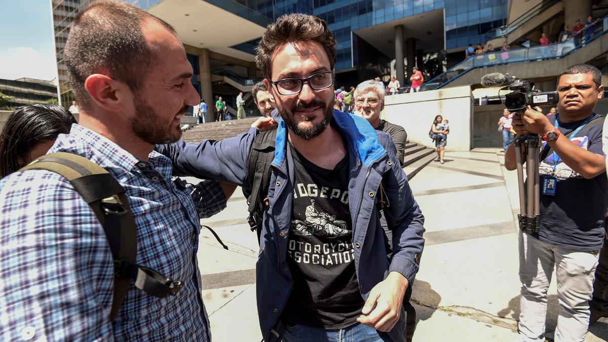 """Gonzalo Domínguez, periodista liberado en Venezuela: """"En el Helicoide pierdes la noción de la realidad"""""""