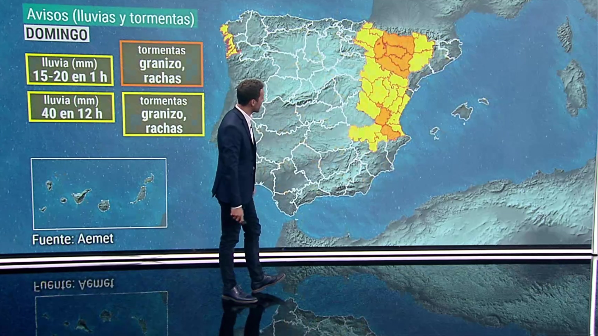 En gran parte de la Península y Baleares predominarán cielos poco nubosos o con intervalos de nubes altas