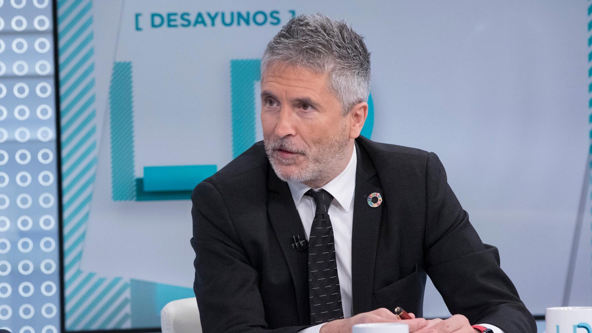 """Grande-Marlaska afirma tener """"un compromiso de lealtad"""" con el proyecto de Sánchez"""