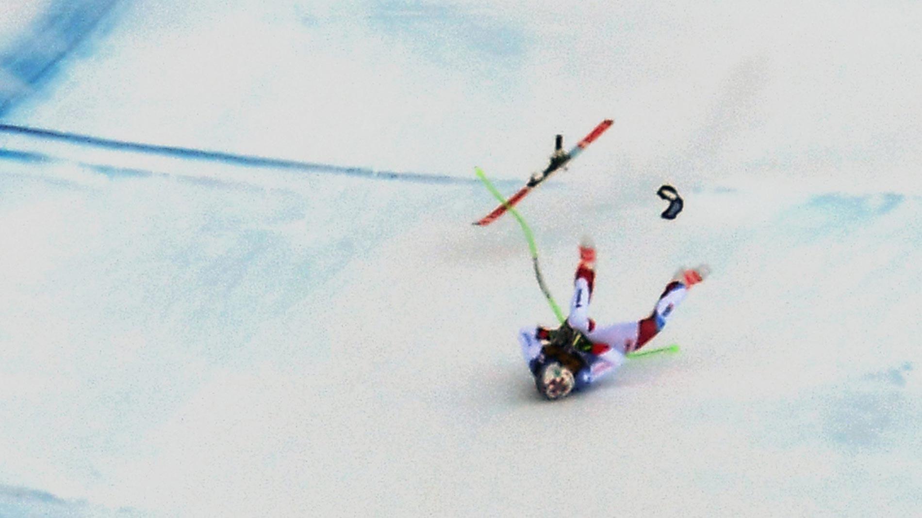 Grave accidente del esquiador Marc Gisin en Val Gardena
