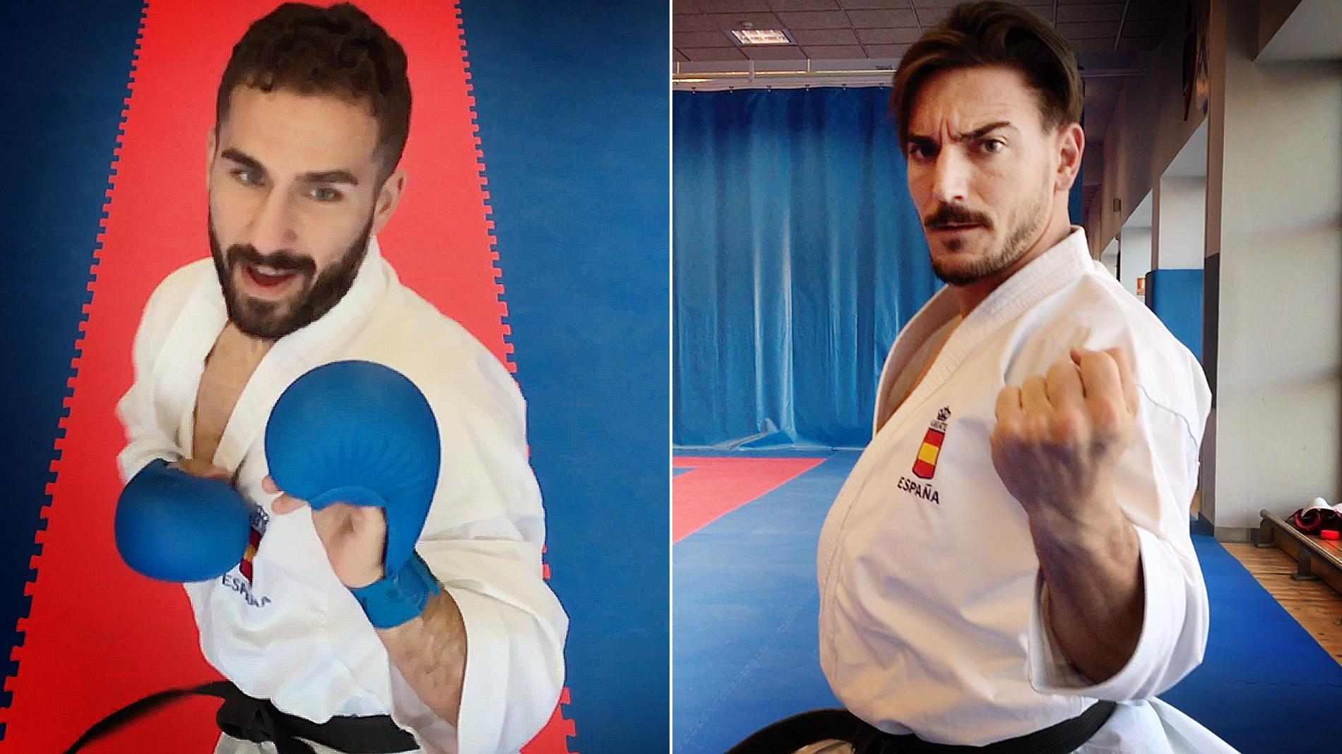 Guerreros del tatami: así es la élite de kárate masculino en España