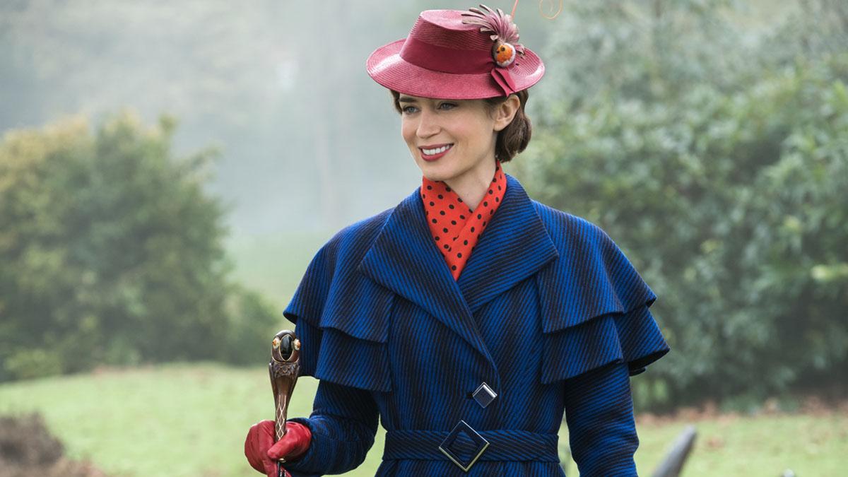 Hablamos en Londres con la nueva Mary Poppins, Emily Blunt, que toma el relevo de Julie Andrews