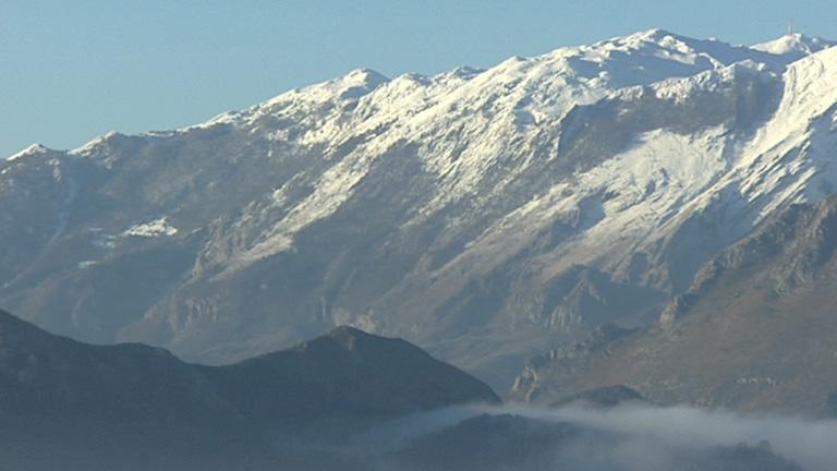 Heladas en el interior y zonas montañosas de la mitad norte