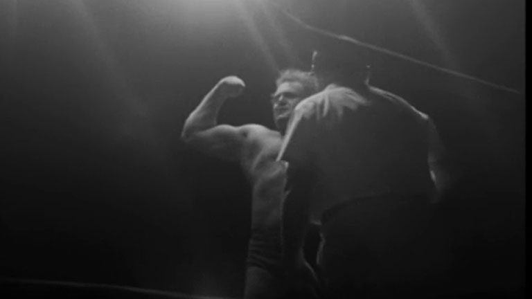 Catch as Can en Madrid - Hércules Cortés contra el japonés Haroud Sakata