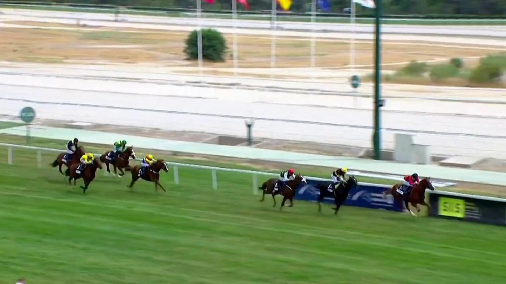 Carreras de caballos desde el Hipódromo de La Zarzuela