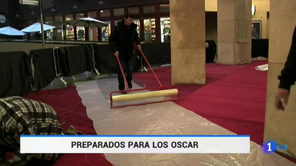 Hollywood se prepara para la alfombra roja de los Oscar