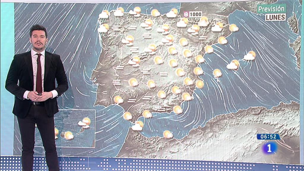 Hoy bajan los termómetros menos en el extremo noroeste y en Canarias