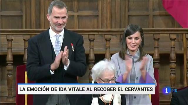 Ida Vitale, Premio Cervantes, destaca 'El Quijote' como el libro que le dio un mundo propio
