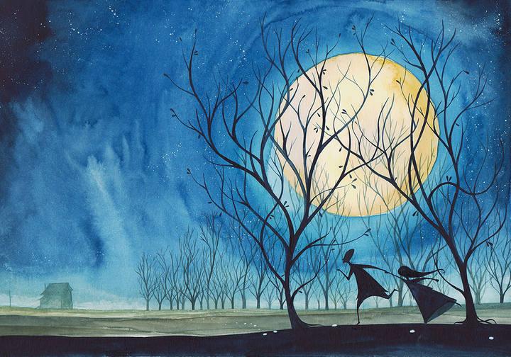 Ilustración de 'Hansel y Gretel', de Daniel Montero Galán