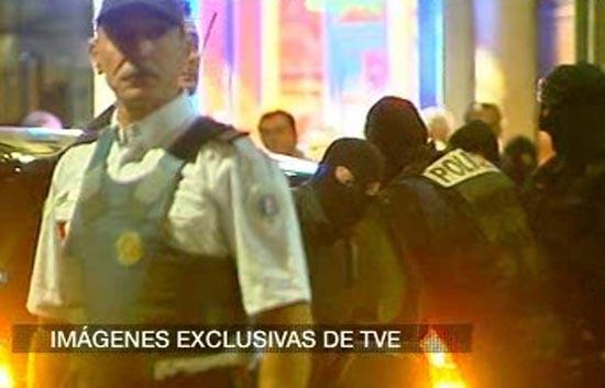 Imágenes exclusivas de TVE de la detención