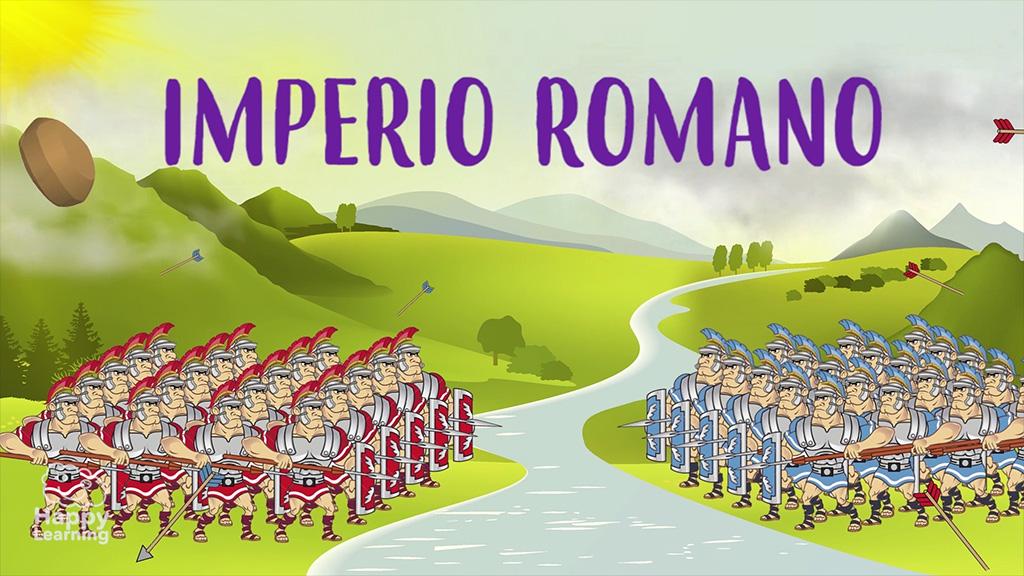 CIENCIAS SOCIALES - El Imperio Romano