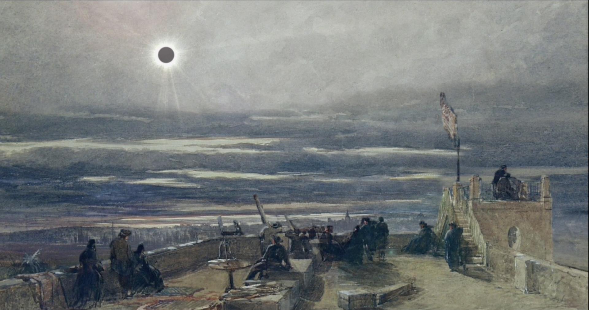 Eclipse de sol en la muerte de Bécquer