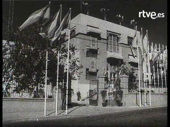 Inauguración de TVE