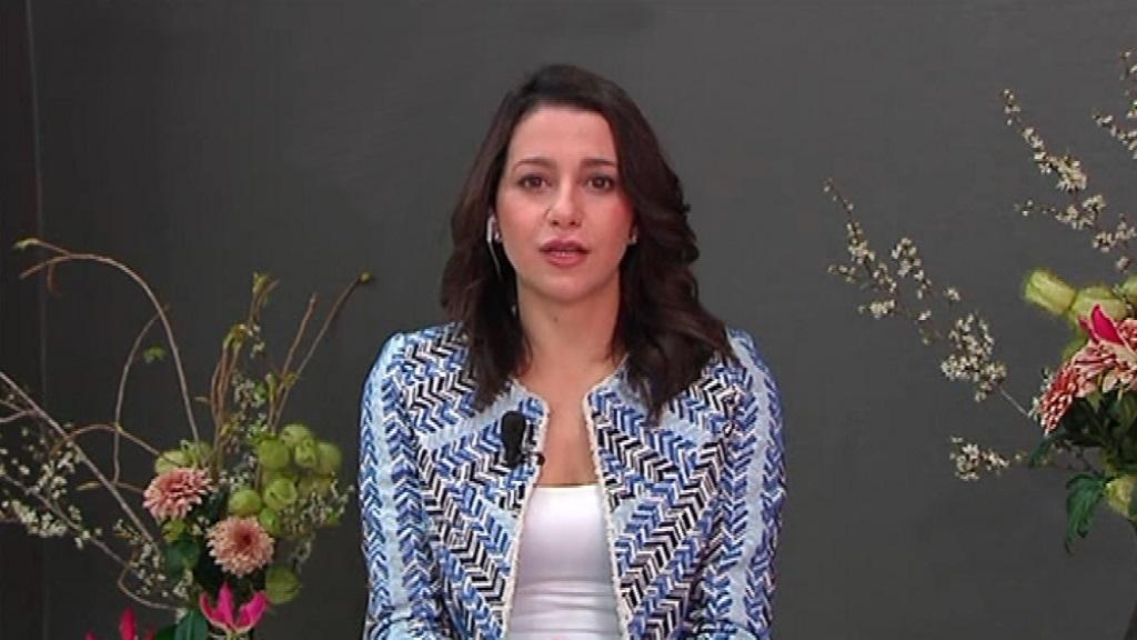 Los desayunos de TVE - Inés Arrimadas, líder de Ciudadanos en Cataluña