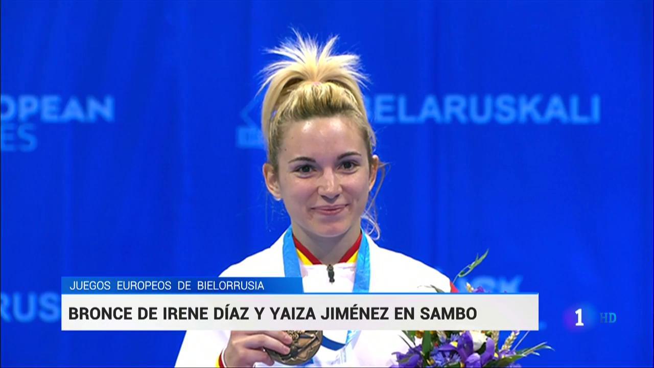 Irene Díaz y Yaiza Jiménez ganan sendos bronces en sambo