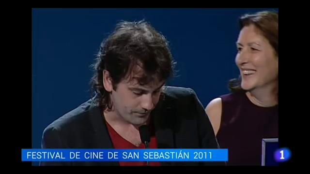 Isaki Lacuesta recoge su segunda Concha de Oro por 'Entre dos aguas'