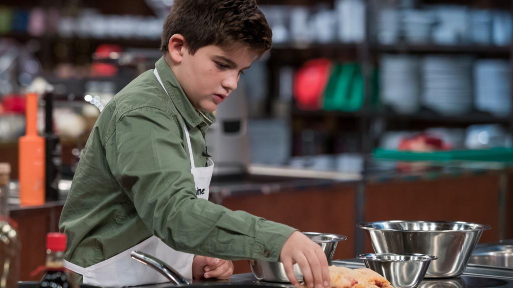 Jaime se frustra en el primer cocinado