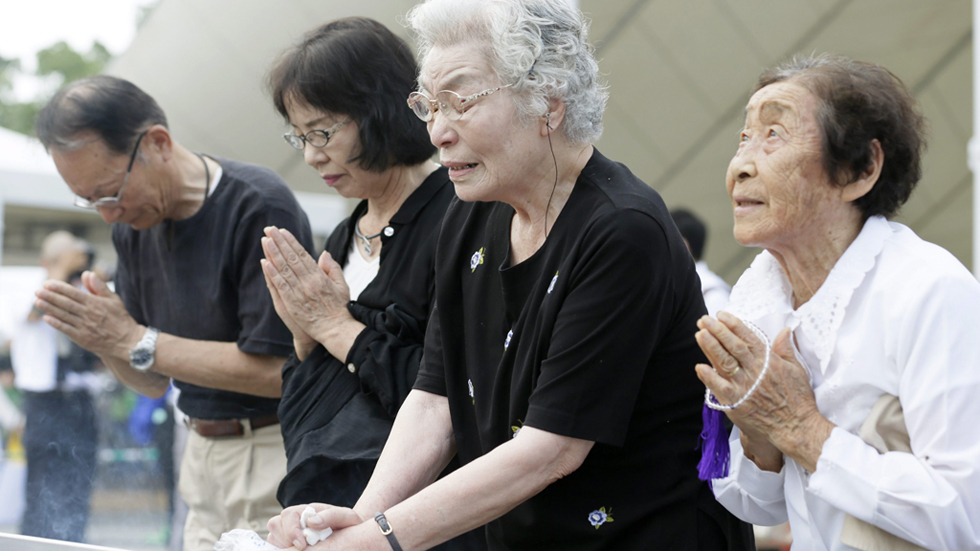 Japón promete mantener los principios antinucleares  en el aniversario de Nagasaki