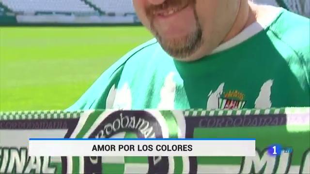 Javier, el aficionado más fiel del Córdoba