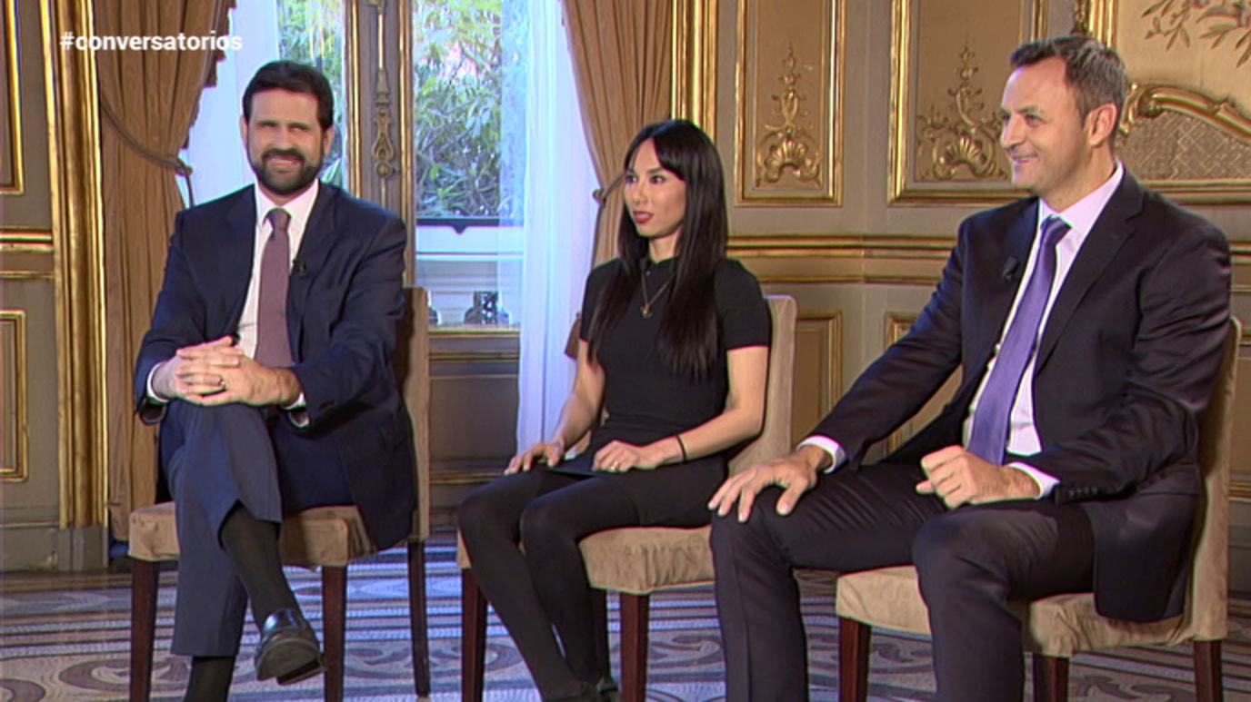 Conversatorios en Casa de América - Jennifer Islas, Daniel Ivoskus y Antonio Solá