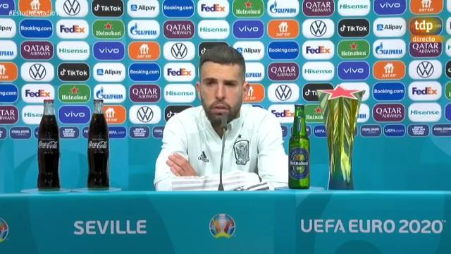 """Jordi Alba: """"Vamos a darle la vuelta a esto"""""""