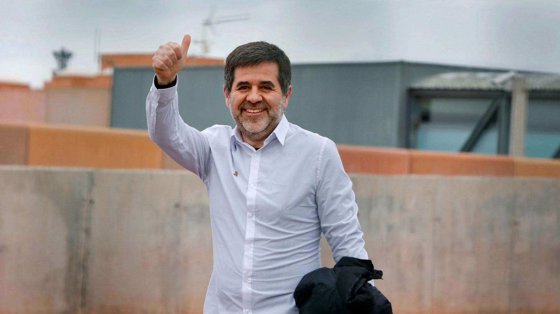 Jordi Sànchez disfruta de su primer permiso penitenciario