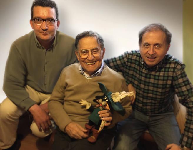 Jorge San Román, Cruz Delgado y Cruz Delgado Sánchez