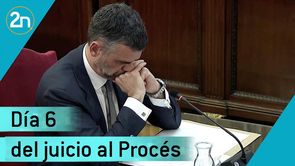 Juicio del Próces: recta final de los acusados