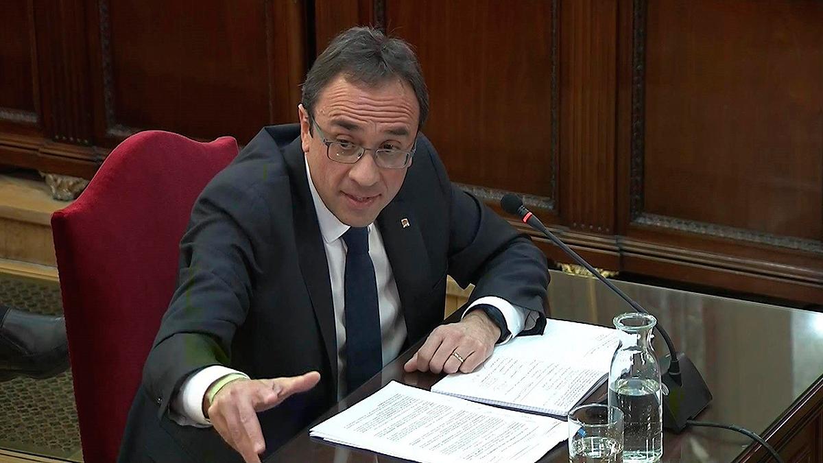 "Juicio del 'procés': Rull niega ""legitimidad moral"" al Tribunal Constitucional"